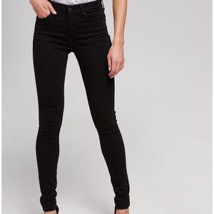 • levi 311 shaping skinny black jeans •